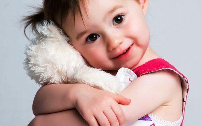 Knuffels op het kinderdagverblijf