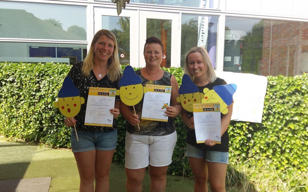 Medewerkers KDV De Harlekijn halen VVE-certificaat