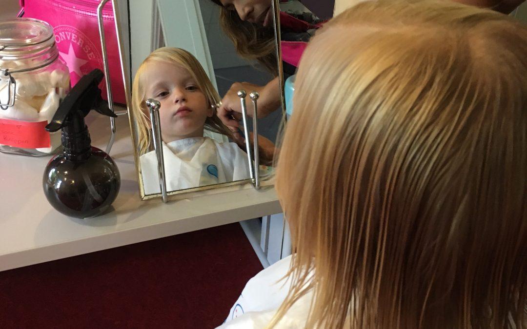 Kapperservice op ons kinderdagverblijf