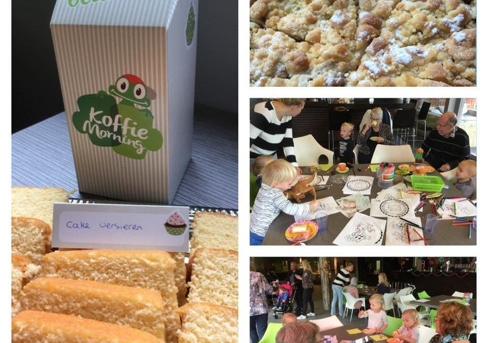 Succesvolle koffie-ochtend voor Stichting Opkikker